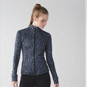 Lululemon Purple Blue Dot Zip Up Define Jacket
